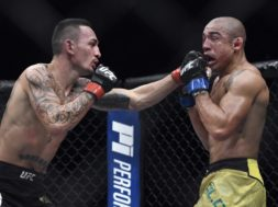 MMA Max Holloway Jose Aldo AP