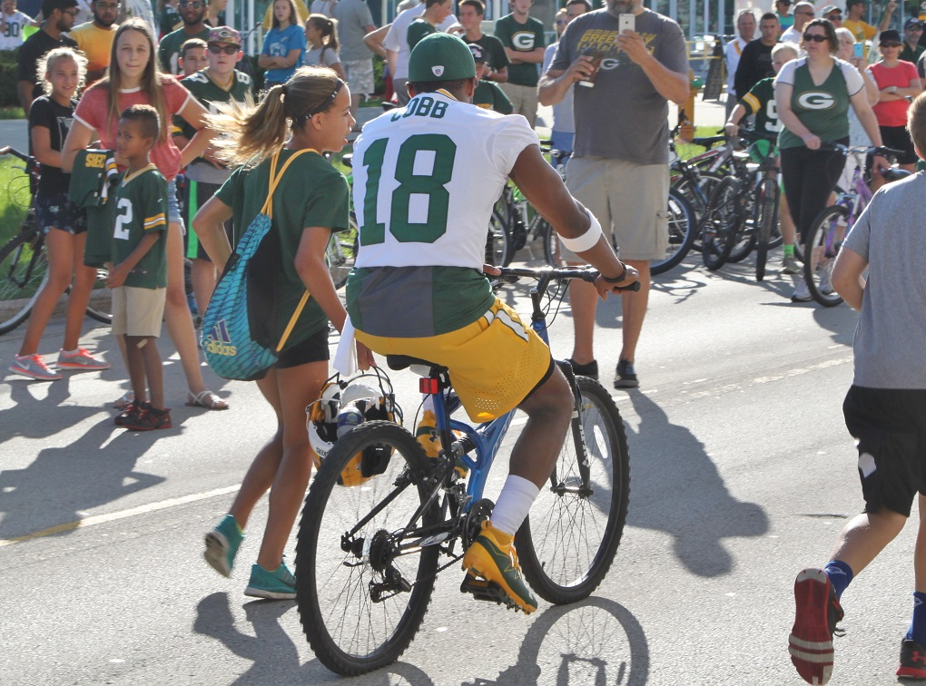 Packers WR Randall Cobb, CB Kevin King healthy again in camp