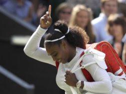 Serena Williams backpack AP