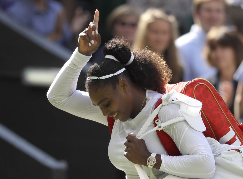 'This is really happening': Serena reaches Wimbledon semis