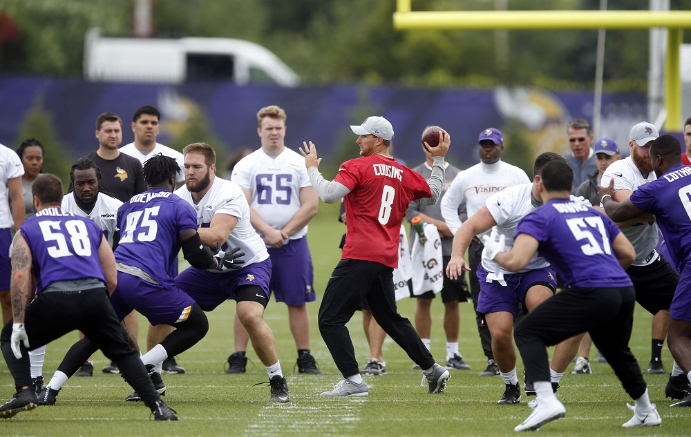 Confident Cousins comfortable with 'license to lead' Vikings