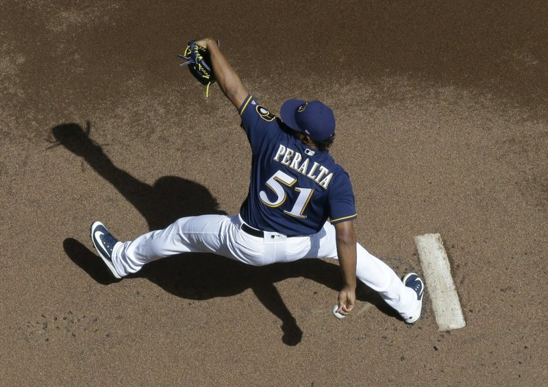 Peraltas on the mound, as Brewers look to continue 5-game win streak