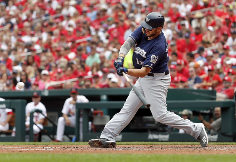 Brewers, streaking Moustakas set for matchup against Reds