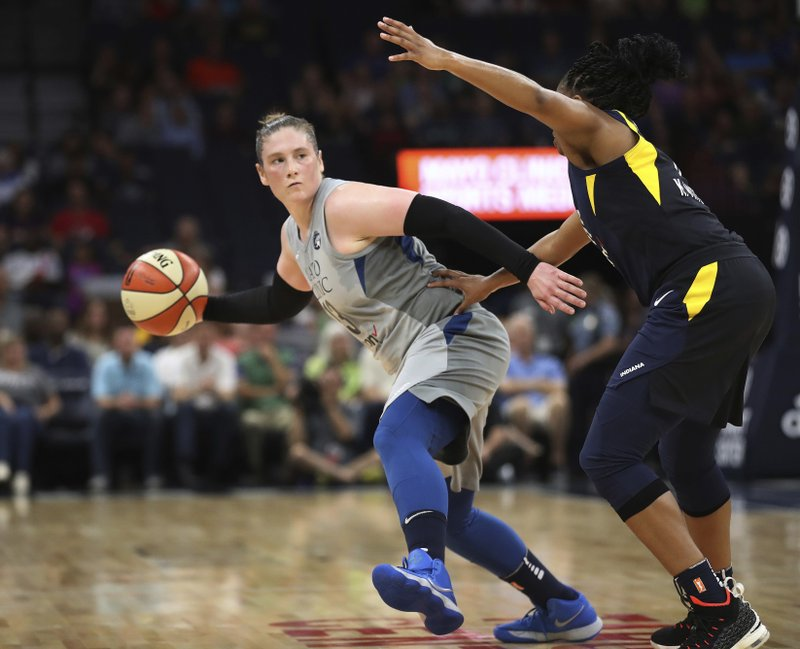 WNBA playoff field set, LA-Minnesota meet in first round