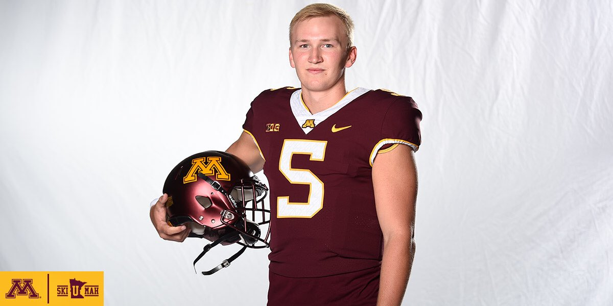 Minnesota names walk-on freshman Zack Annexstad starting QB