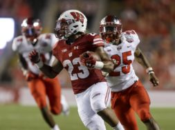 Badgers Jonathan Taylor New Mexico AP