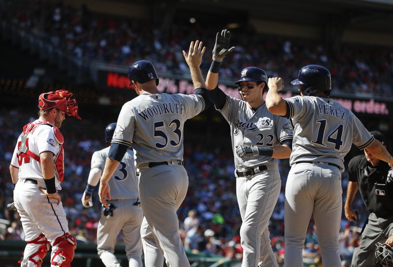 Nationals ride 4-game win streak into matchup with Brewers
