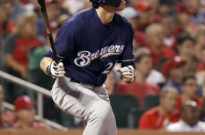 Brewers Christian Yelich HR watch AP