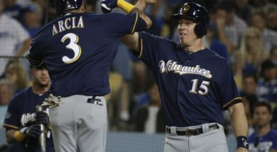 Brewers Orland Arcia bash bros AP