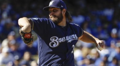 Brewers Wade Miley AP