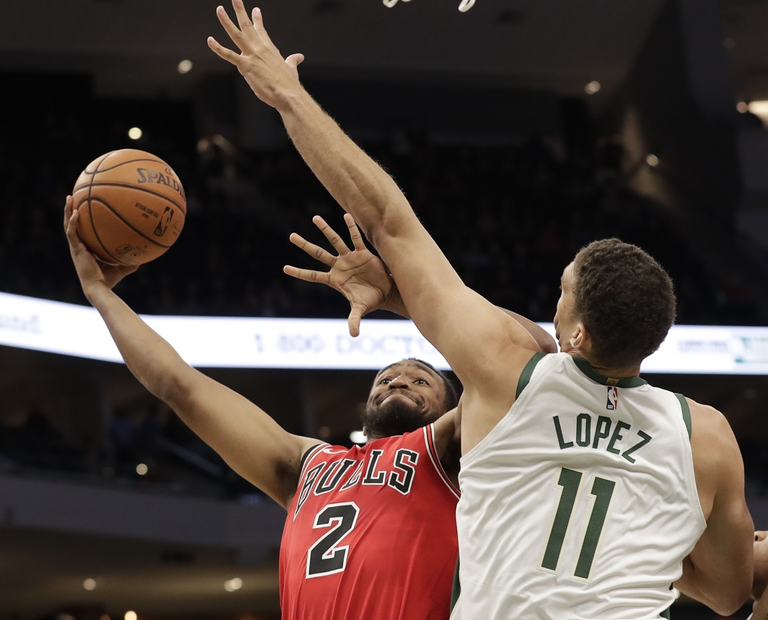WATCH: Bucks newcomer Lopez welcomes Jabari back to Milwaukee with the facial