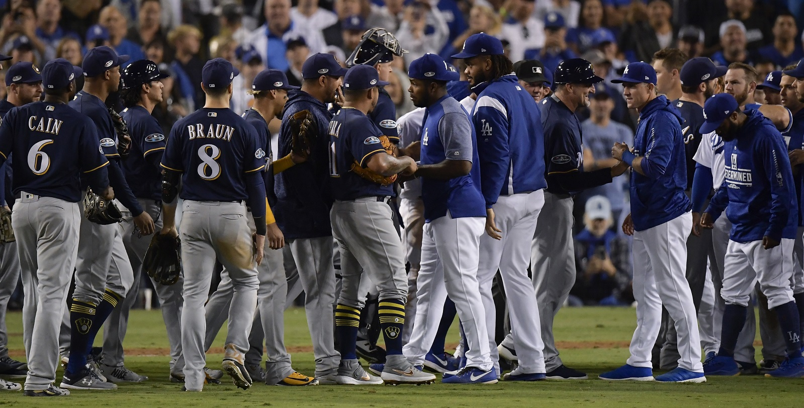 NLCS REMATCH: Brewers face off with Dodgers on WKTY