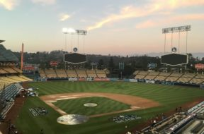 Dodgers field World Series AP