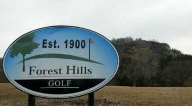 Forest Hills Golf Course sign