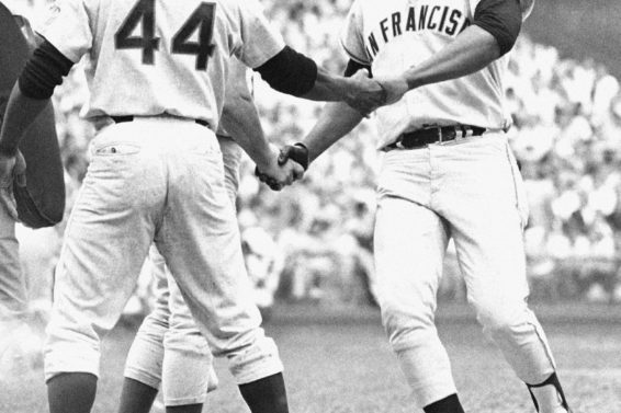 Giants Willie McCovey 1969 AP