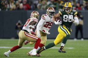 Packers Jimmy Graham SF AP