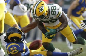 Packers Ty Montgomery fumble