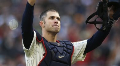 Twins Joe Mauer AP