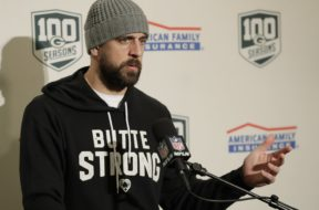 Aaron Rodgers press conference AP