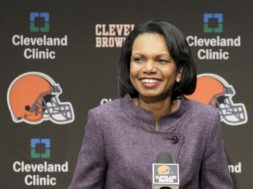 Browns Condoleezza Rice AP