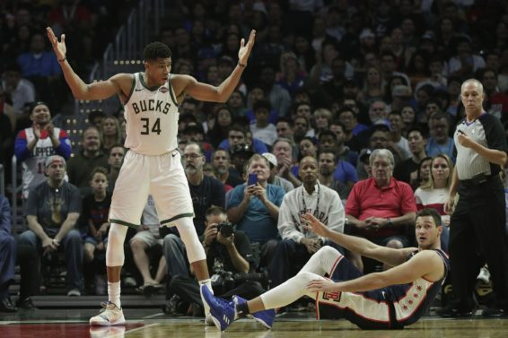 Bucks Giannis shrug AP