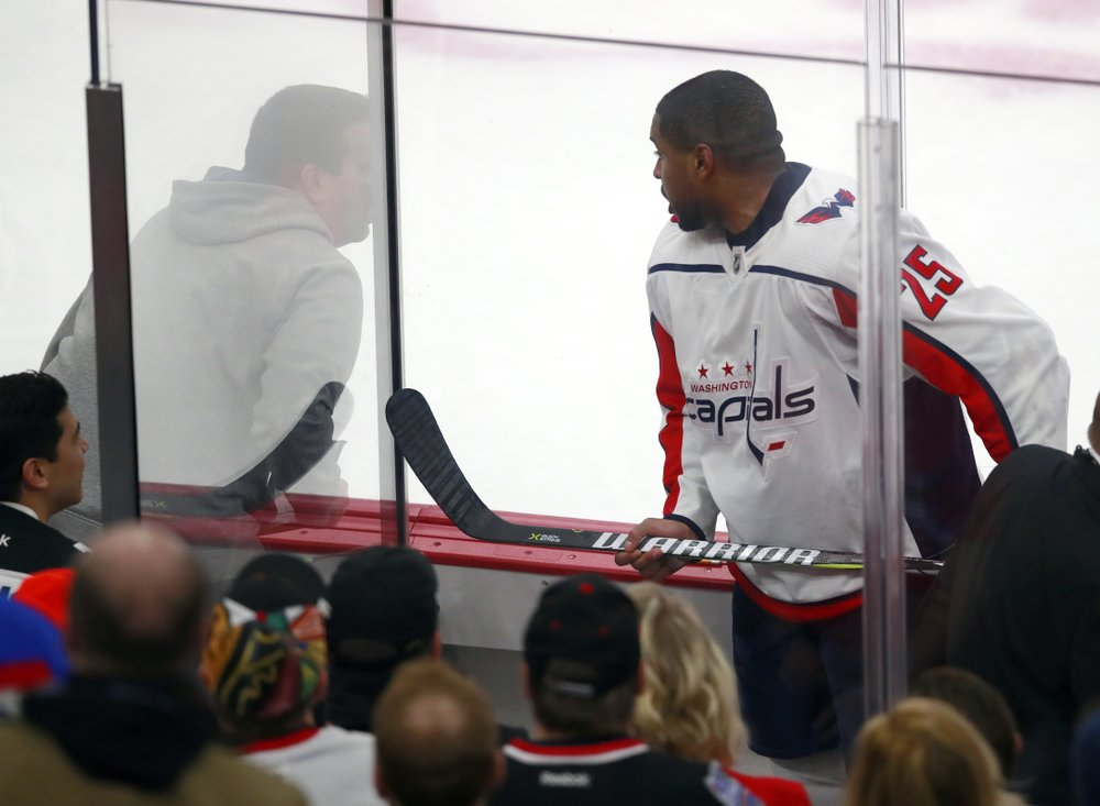 Racism lingers for NHL players 60 years after O'Ree landmark