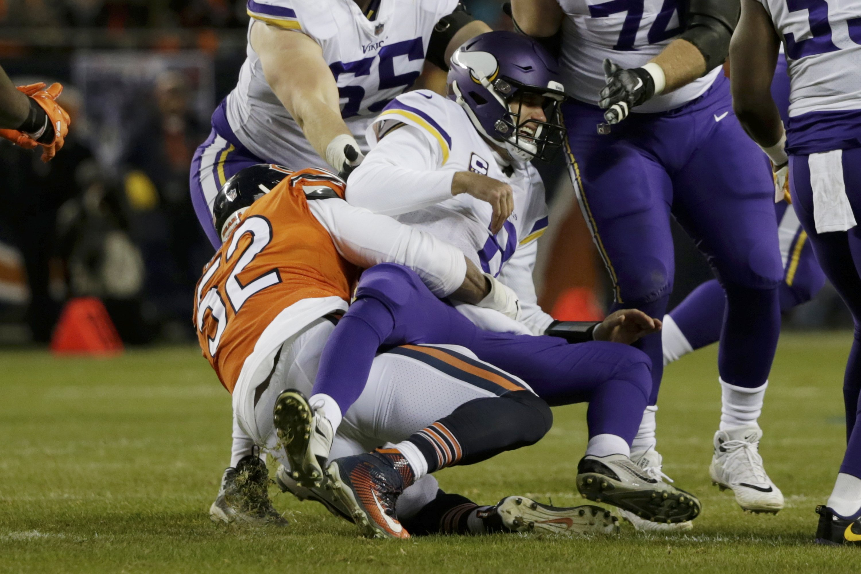Bears beat Vikings, tighten grip on NFC North