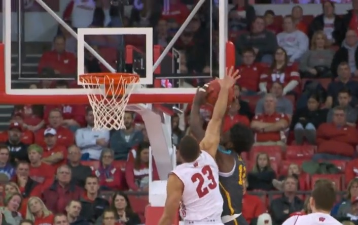 Off bench, La Crosse's Kobe King scores eight in Badgers win over Coppin State