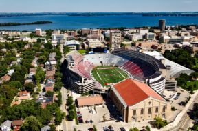 Madison Camp Randall Badgers Wisconsin file