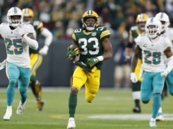 Packers Aaron Jones AP
