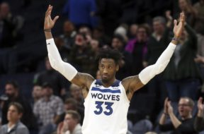 Twolves Robert Covington AP
