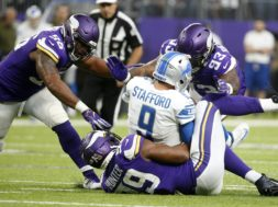 Vikings sack Stafford AP