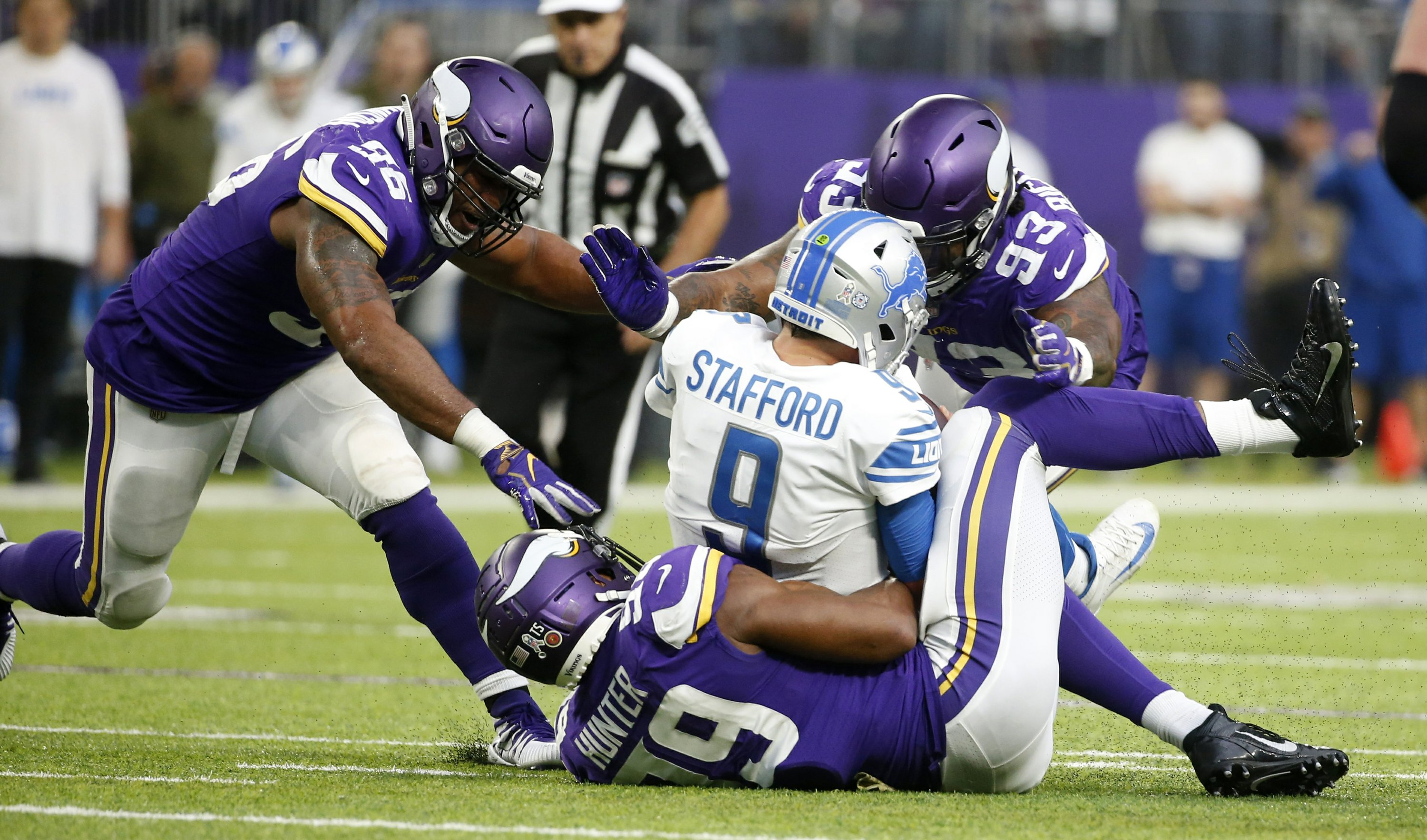 NFL sack leader Danielle Hunter 'just lets it rip' for Vikes