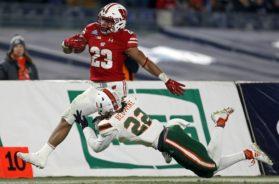 Badgers Jonathan Taylor Miami AP