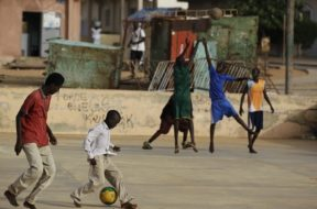 Basketball Africa Children AP