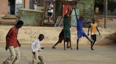 Basketball Africa Children AP