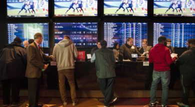Gambling Sports book betting AP