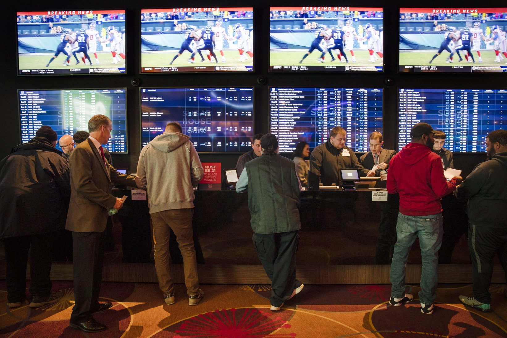 Feds eye move to regulate legal sports betting