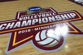 NCAA volleyball Final Four Target Center Minnesota logo