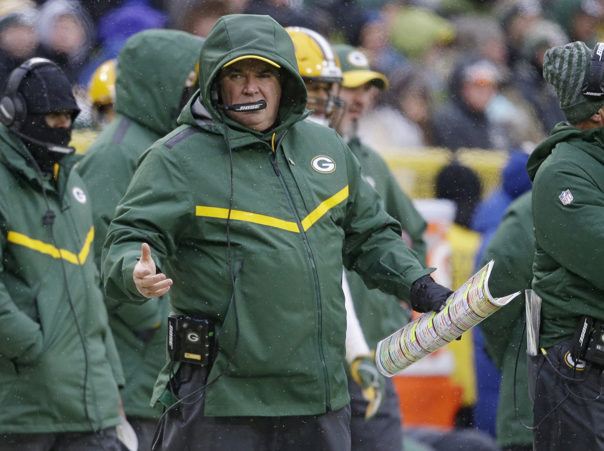 Fired coach Mike McCarthy returns to speak to Packers