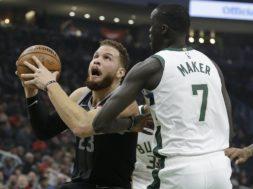 Pistons Blake Griffin Bucks Thon Maker AP
