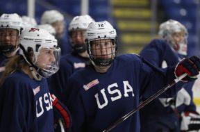 USA Women hockey AP
