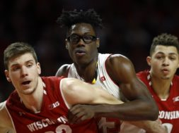 Ethan Happ, Jalen Smith, Kobe King