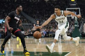 Bucks Giannis Heat Wade AP