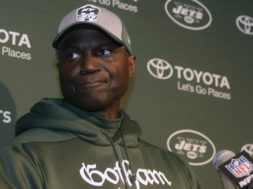 Jets coach Todd Bowles AP