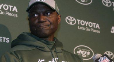 Jets coach Todd Bowles AP