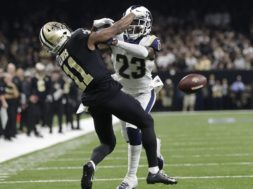 Saints Rams missed Pass Interference AP