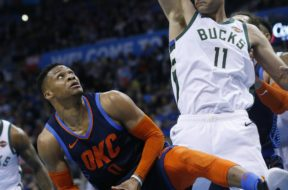 Thunder Westbrook Bucks Lopez