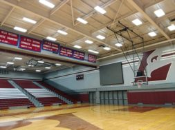 UWL Mitchell Hall Basketball court 2