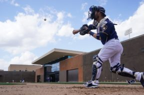 Brewers Yasmani Grandal Spring Training AP